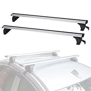 Amazon.com: ALAVENTE Universal Roof Rack Cross Bar Set