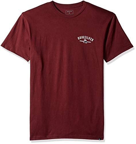 Simple Man T-shirt - Quiksilver Men's Simple Colour TEE, Port Royale, L