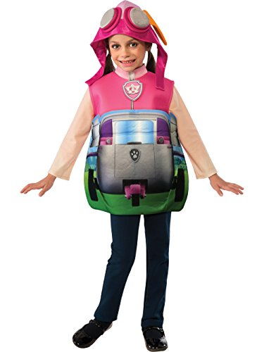 Rubie's Paw Patrol 3D Skye Candy Catcher Child Costume, Toddler -
