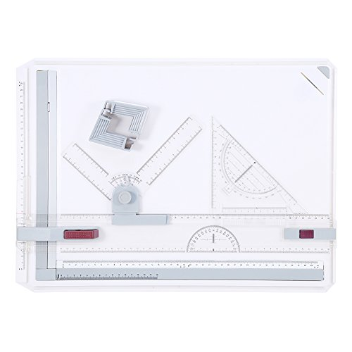 Yosoo Multifuctional A3 Drawing Board, Adjustable Measuring for sale  Delivered anywhere in USA