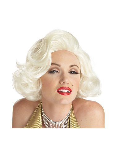 Classic Marilyn Monroe Wig-White / One Size
