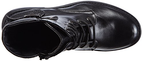 Rieker96724 - botas Mujer Negro - Schwarz (schwarz/schwarz/schwarz / 01)