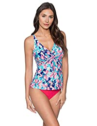 Sunsets Womens Forever Tankini Printed