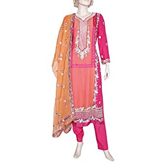 Shabnam Pink Casual Kameez & Salwar Set For Women