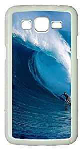 Samsung 2 7106 Case Nature Surfer PC Samsung 2 7106 Case Cover White