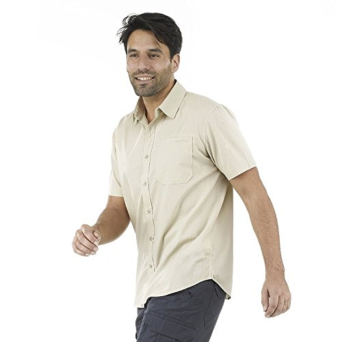Quechua-Arpenaz-50-Shirt-White-Large