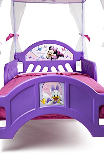 Delta Children's Products Minnie Mouse Canopy Toddler Bed 3