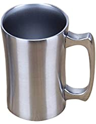 Insulated Mugs, OrgMemory Stainless Steel Tumbler, 20 oz Coffee Mug, Double Wall Beer Mugs, Tea Tumbler, Vacuum Insulated Cup with Lid