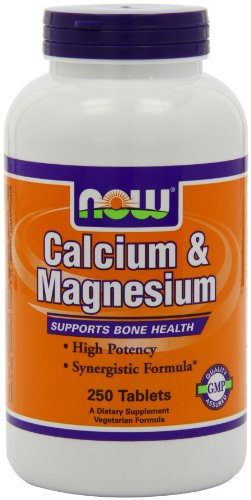 Now Foods Calcium & Magnesium   250 Tablets