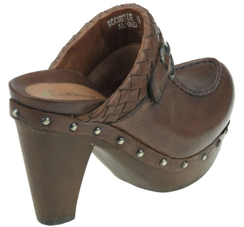 Earthies Mujeres Rochelle Almond Leather