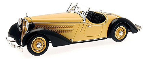 CMC Audi 225 Front Roadster (Black/Yellow) Limited Edition 1:18 Scale