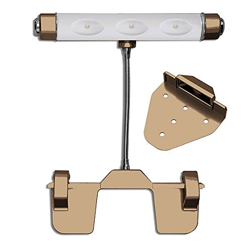 Cordless LED Picture Light (Gold)