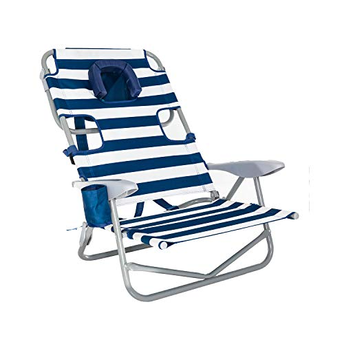 - Ostrich OYB-1003S Back Chair, Striped