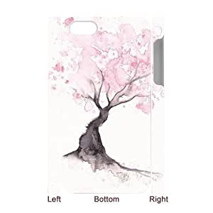3D Bumper Plastic Case Of Watercolor customized case For Iphone 4/4s by icecream design