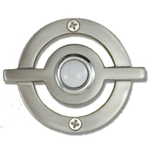 Atlas Homewares DB643-BRN 2.5-Inch Avalon Door Bell, Brushed Nickel