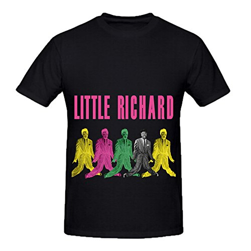 Little Richard Little Richard Soundtrack Men O Neck Diy Shirts Black
