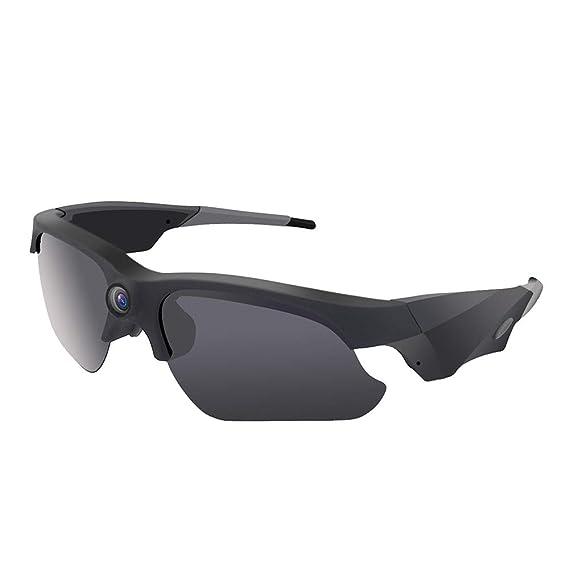 ... Anti UV400 Gafas de sol Manos libres HD 1080P Spy Video Gafas de sol con lente polarizada Gran acción de deportes al aire libre Cámara de vídeo Motor ...
