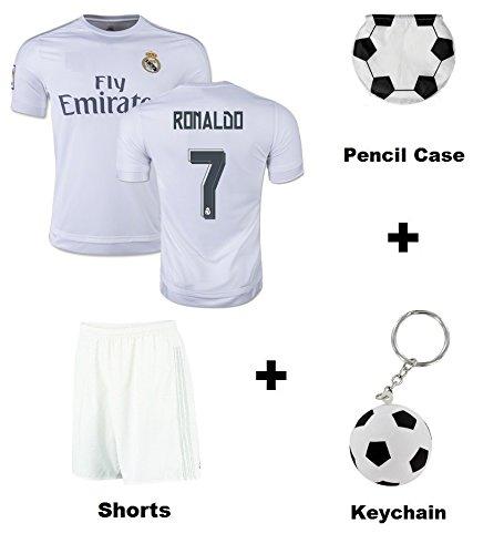Real Madrid Home   Away   Third Kids Soccer Jersey Ronaldo   aeaa7302f