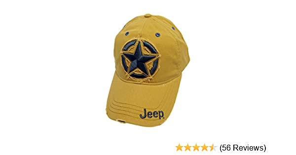af41482a Jeep Distressed 3D Star Cap at Amazon Men's Clothing store: