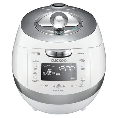 Cuckoo Electric Induction Heating Pressure Rice Cooker CRP-BHSS0609F (White)