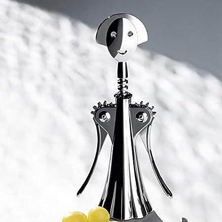 Alessi - Anna G. AM01 Z - Sacacorchos Profesional Manual de Diseño para Vino en Zama Cromada