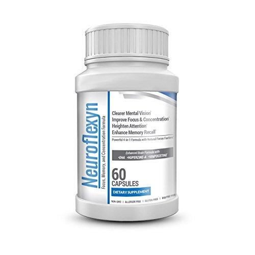 Neuroflexyn - Focus, памяти и концентрации Формула 1 бутылка (60 капсул)