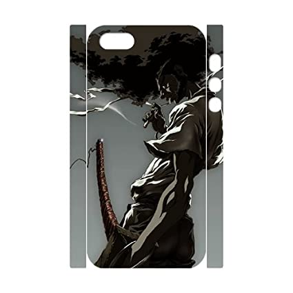 3d afro samurai series iphone 5 5s case afro ninja from boondocks