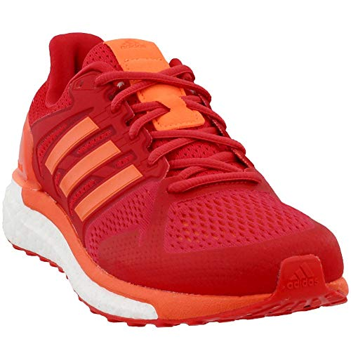 adidas Womens Supernova ST Running Athletic Shoes Red 6