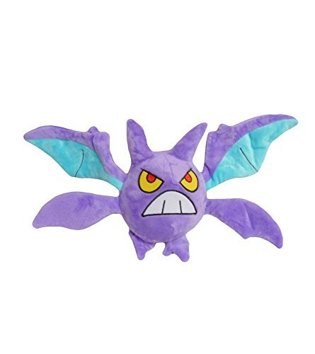 Pokemon: 6-inch crobat bat wing plush toy doll