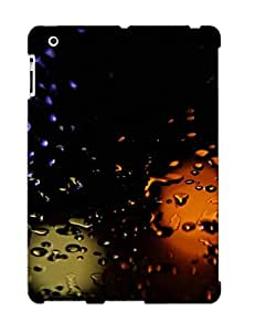 Special Exultantor Skin Case Cover For Ipad 2/3/4, Popular Water Droplets On Glass Phone Case For New Year's Day's Gift