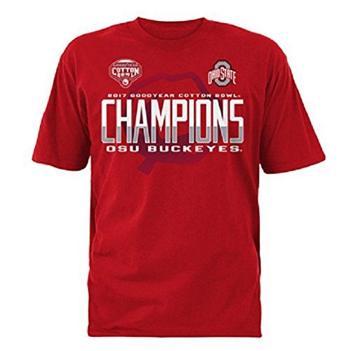 2017 Goodyear Cotton Bowl Ohio State Mens Titleholder Short Sleeve Tee  Large