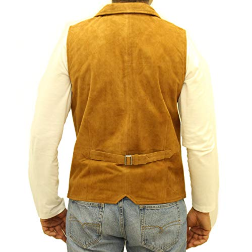 Chemise Up Cuir Style Suède Et Beige Disponible A Five Col Button Finition En Leather To De Mens Gilet Smart Z Suède vaxq1047