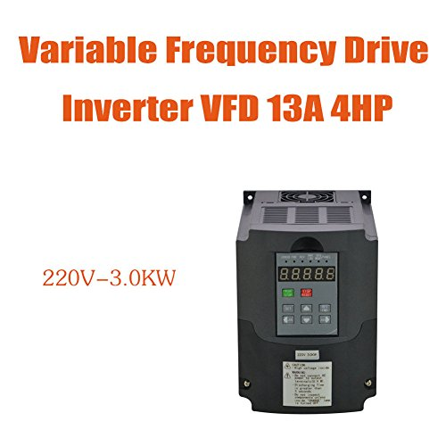 3KW 220V 4HP 13A VFD Variable Frequency Drive Inverter