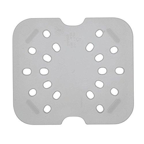 Cambro (60PPD190) Sixth-Size Translucent Food Pan Drain Shelf