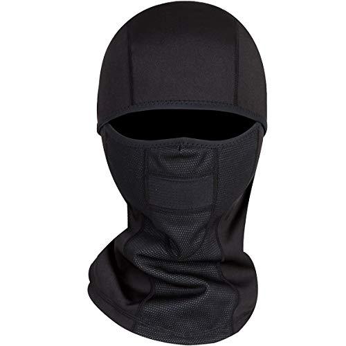 Adult Winter Fleece Grasping Balaclavas Face Cover Windproof Ski Mask Hat.YR.Lover (black4) ()