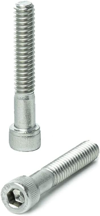 Hex Socket Quantity: 100 Socket Button Head Cap Screw 1//4-20 x 1//2 Length: 1//2 inch Coarse Thread Full Thread 1//4 inch Hexagonal Allen Bolt Stainless Steel 316