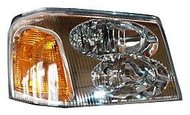 TYC 20-6367-00 GMC Envoy Passenger Side Headlight Assembly (Gmc Envoy Fender)