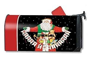 MailWraps buzón de Papá Noel saludos MailWrap Cubierta 00131