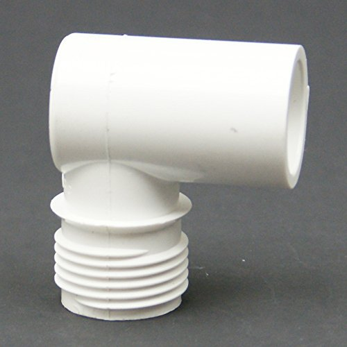 PVC Schedule 40 MHT x Slip Elbow Adapter - MHT Size : 3/4'' - Slip Size : 1/2''- 100 pack (Part 510-005) by Dura