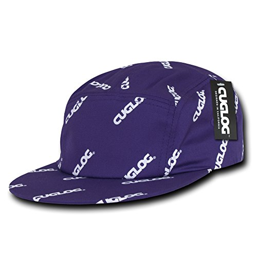Racer Log (cuglog 5 Panel Racer Cap, Purple)