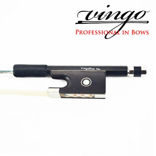 VingoBow 4/4 BRAND NEW Carbon Fiber Violin Bow STRAIGHT with Greet BALANCE Open and Powerful Tone All Parts Professional Mounted, Art No.100V