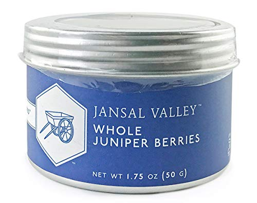 Jansal Valley Whole Juniper Berries, 1.75 oz