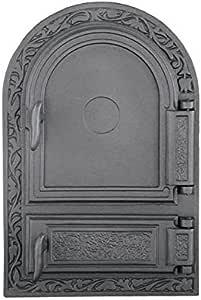sellon24 Puerta del Horno De Hierro Fundido Horno Puerta Puerta Horno para Pizza Madera del Horno Puerta Horno de Piedra Puerta h1510: Amazon.es: Jardín