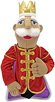 Melissa & Doug King Puppet with Detachable Wooden