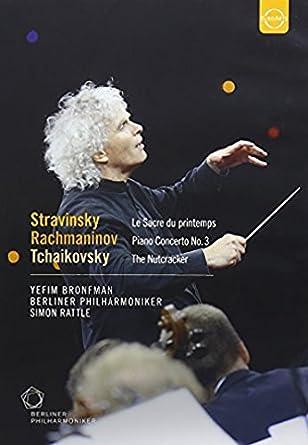 Rachmaninov Piano Concerto no 3; Sir Simon Rattle; Berlin Philharmonic [DVD] [2009] [NTSC] by Yefim Bronfman