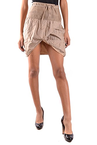Mujer Daniele Alessandrini Falda Ezbc107190 Algodon Beige x1pU1qECw