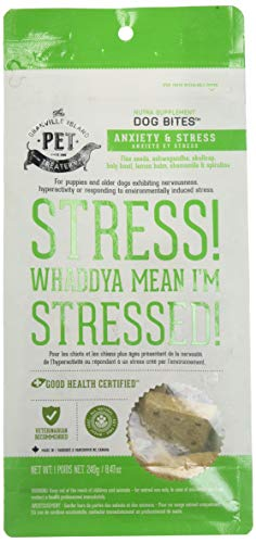 (Granville Island Pet Treatery Anxiety and Stress Nutra Bites, 8.47 Ounces, Relaxing Dog)