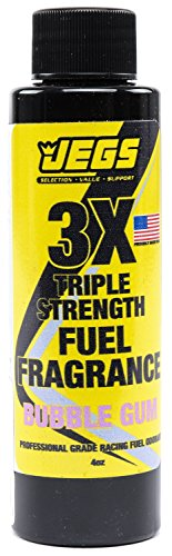 JEGS 63606 Fuel Fragrance Bubble Gum Scented 4 oz. Bottle Safe for All Internal by JEGS