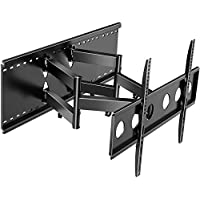 Perlesmith Full Motion TV Wall Mount with Cable Management and Extends up to 22 Inch