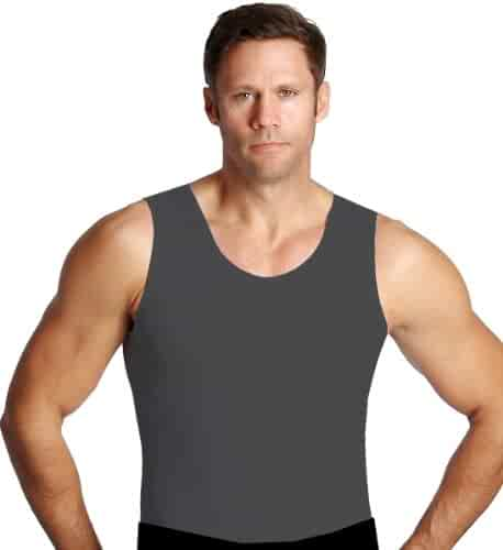 Insta Slim Mens Compression Muscle Tank  (INT)